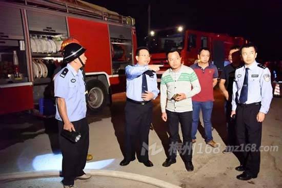 蕉岭县三圳镇裕顺可再生能源厂发生火灾