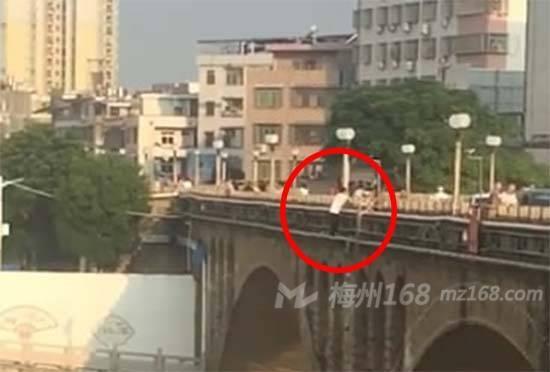 五华水寨大桥有人跳河?怎么回事?