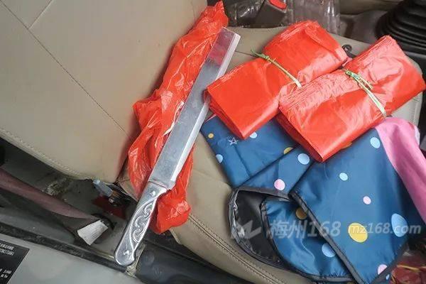 五华一男子在梅江四路持刀阻碍执行公务被依法刑拘