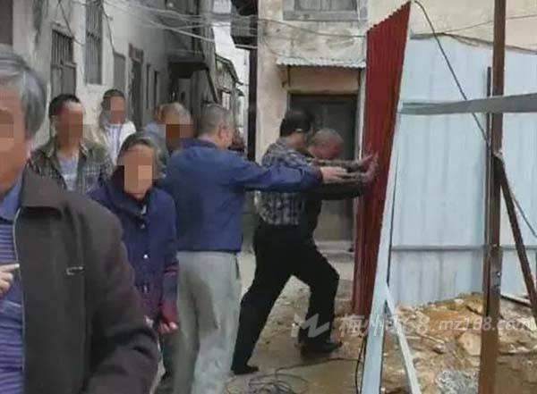 梅县5人阻止正常施工、寻衅滋事,被刑拘!