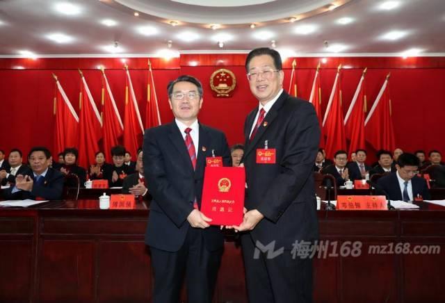 朱少辉当选为五华县人民政府县长