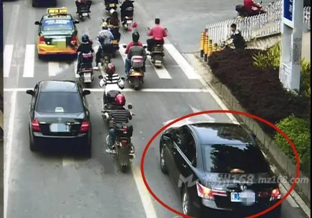 梅县:68次交通违法不处理?最终栽在天眼下!